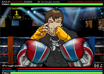 punch tom out 2 - Punch Tom Out