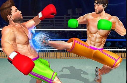 bodybuilder ring fighting club wrestling games 512x335 - BodyBuilder Ring Fighting Club: Wrestling Games